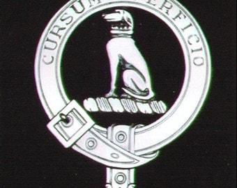 Hunter Scottish Clan Crest Badge
