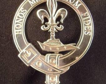 Johnson Scottish Clan Crest Badge (II)