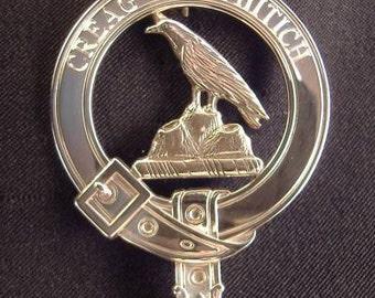MacDonnell Scottish Clan Crest Badge