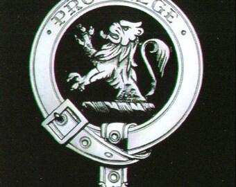 MacFie Scottish Clan Crest Badge
