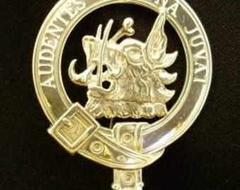 MacKinnon Scottish Clan Crest Badge