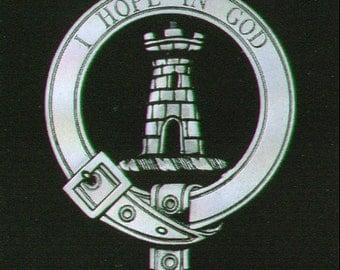 MacNaughton Scottish Clan Crest Badge