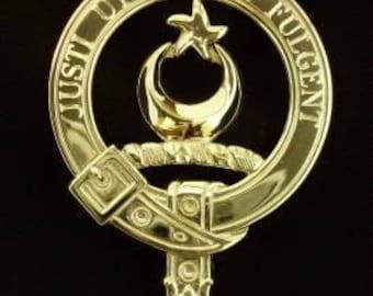 McColl Scottish Clan Crest Badge