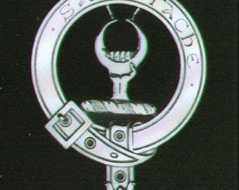 Napier Scottish Clan Crest Badge