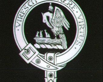 Stewart Scottish Clan Crest Badge