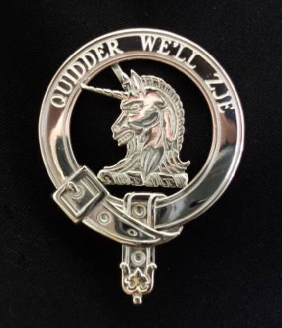Stewart of Appin Scottish Clan Crest Badge