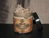 Organic Mocha Java Whipped Sugar Scrub - With Fresh Kona Coffee  4oz
