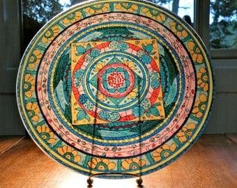 Partnership Mandala Platter