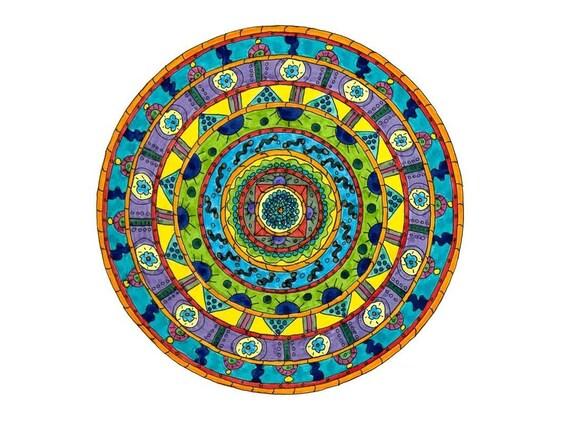 Truth Mandala Giclee Print