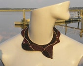 Flux Collar - merlot   (reserved until 2/15/12 pending payment)