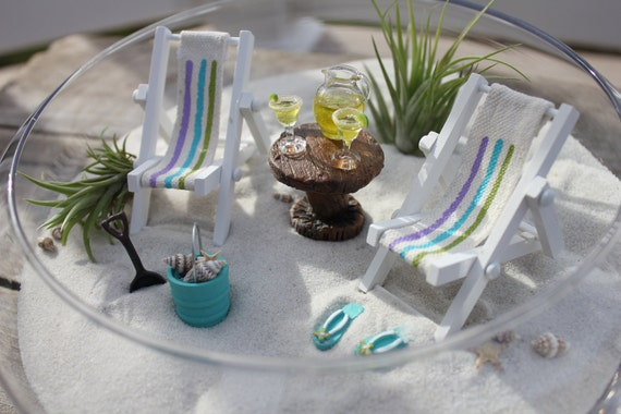 miniature beach landscape