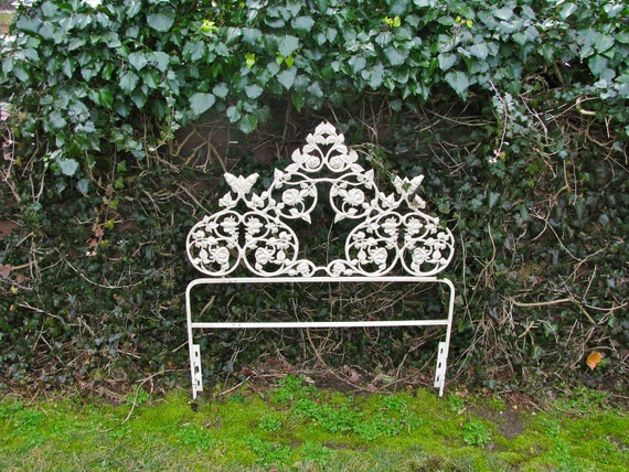 twin wrought iron headboard  desireofnations, Headboard designs