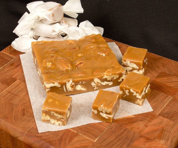 Toasted Pecan Caramels