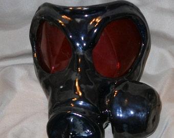 Stoneware Gas Mask