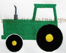 Tractor Embroidery