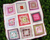 FAIRY TALES Baby Girl Play Quilt w/ free US shipping