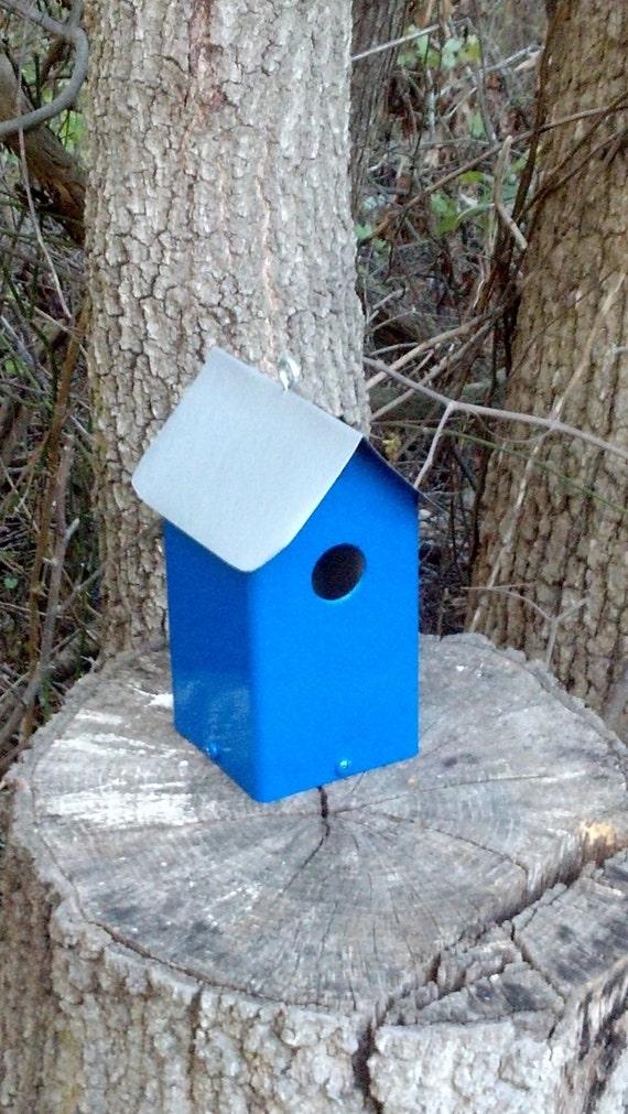 Royal Blue Birdhouse