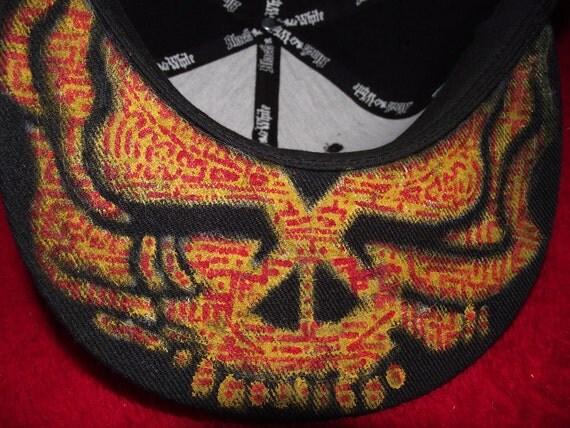 stealie skull flat brim fitted 7 1/2