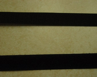 "5/8"" Velcro Black Hook & Loop 2 Yards"