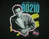 Vintage 90s Beverly Hills 90210 tv show t shirt Luke Perry