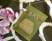 Dad Let Me Drive, Father's Day Card, Dad's Day, birthday card, greeting card