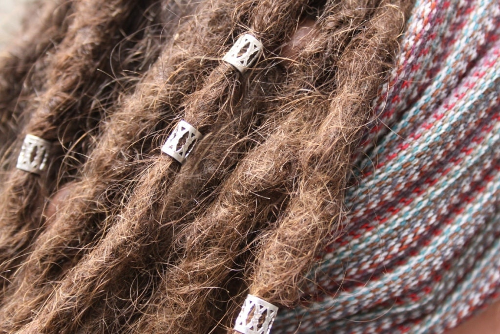 Dreadlock Beads 20 Silver DREADLOCK Be...