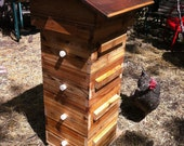 Warré Beehive made with Reclaimed Lumber
