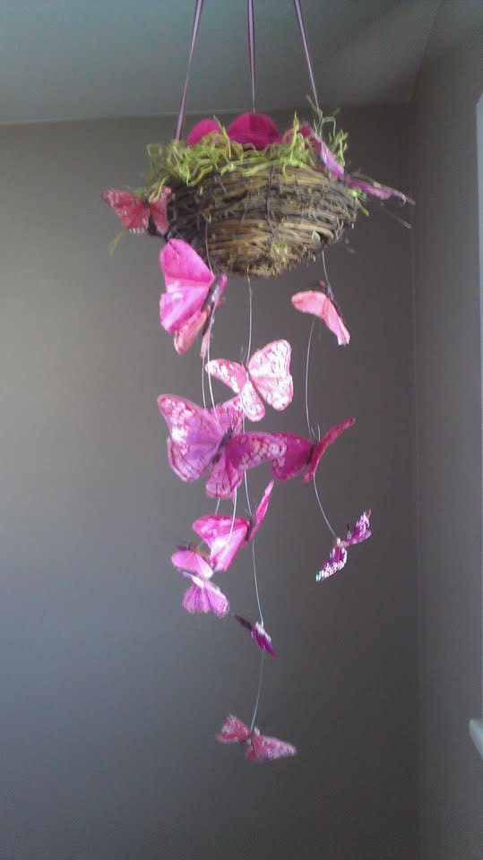 Enchanted Butterfly Garden Baby Mobile Sale