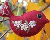 Bird - Hanging Decoration