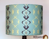 New Retro Lamp Shade Kit 30cm (Regency wallpaper design)