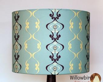 New Retro Lamp Shade 30cm (Regency wallpaper design)