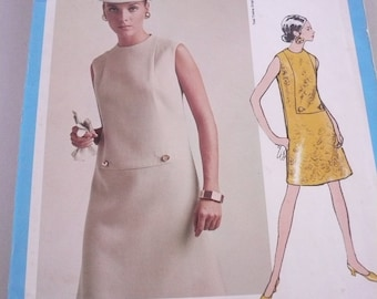 Vintage Vogue Americana Pattern 1886 Dress by Teal Traina  Misses Size 14