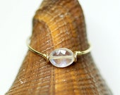 Rainbow Moonstone Ring14K gold filled,gold ring,