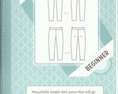 SALE -- Clover pants pattern by Colette Patterns sizes 0-18 included