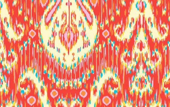 SALE--Amy Butler--Lark--Kasbah--Persimmon--100% cotton fabric--1.5 yd. piece