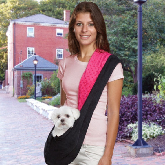 Items similar to pattern dog sling carrier pet carrier pdf - Dog carrier sling pattern ...