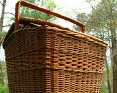 Big Wicker Picnic Basket