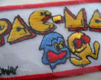 Pac-Man Patch 1980's