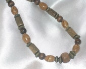 Wooden Bead Necklace - Men or Women