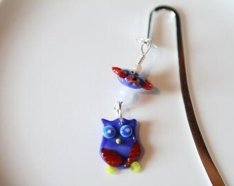 Blue Owl Bookmark