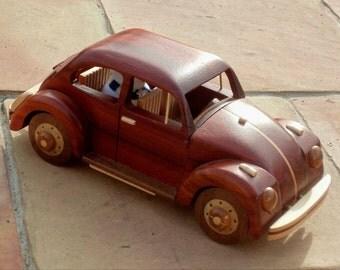Volkswagen Wooden Miniature