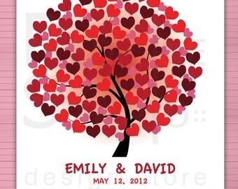 Wedding Guest book alternative. Home decor. Birds available. Printable