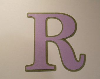 Alphabet Die-Cuts, Custom made letters and numbers, priced per piece.