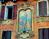 Italian Holiday - Art on the Street - 8 X 10 Print - Photography - Vintage Quality - Venice - Italy