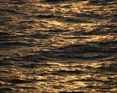 Gulf Sunset Reflections