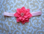 Felt Flower Chic Headband