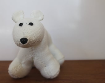 Handmade Knitted Polar Bear