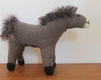 Handmade Knitted Horse