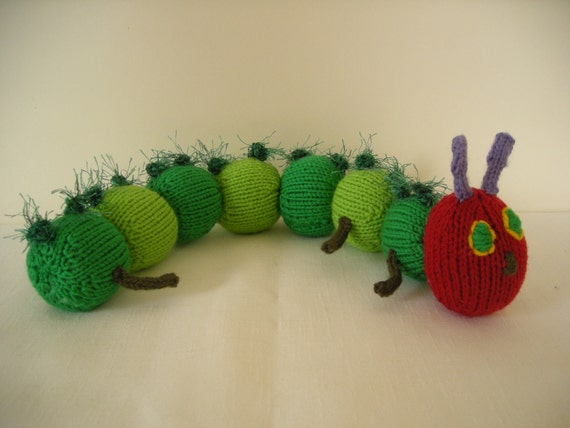 Knitting Pattern Very Hungry Caterpillar : Unavailable Listing on Etsy