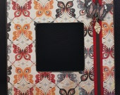Abstract Butterfly Picture Frame
